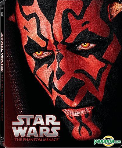 Yesasia Star Wars Episode I The Phantom Menace 1999 Blu Ray Limited Edition Steelbook Hong Kong Version Blu Ray Ewan Mcgregor Liam Neeson 20th Century Fox Western World Movies