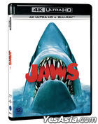 Jaws (4K Ultra HD + Blu-ray) (45th Anniversary) (Korea Version)