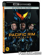 Pacific Rim: Uprising (4K Ultra HD + Blu-ray) (2-Disc) (Korea Version)