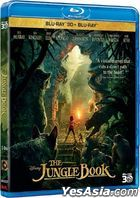 The Jungle Book (2016) (Blu-ray) (2D + 3D) (Hong Kong Version)