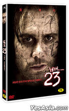 The Number 23 (DVD) (Korea Version)