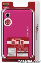 3DS LL 耐衝撃EVAポーチ (ピンク) (日本版)