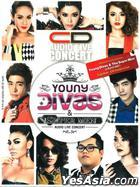 Audio Live - Young Divas And The Super Man (3CD) (Thailand Version)