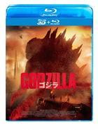 Godzilla (2014) (Blu-ray) (2D + 3D) (Japan Version)