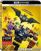 The LEGO Batman Movie (2017) (4K Ultra HD + Blu-ray) (2-Disc Edition) (Taiwan Version)