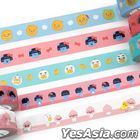 Kakao Friends Little Friends Masking Tape (2. Tube Face)