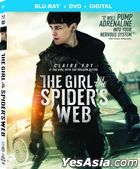 The Girl in the Spider's Web (2018) (Blu-ray + DVD + Digital) (US Version)