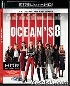 Ocean's 8 (2018) (Blu-ray) (Hong Kong Version)