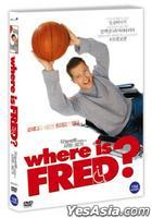 Where Is Fred (AKA : Who Is Fred) (DVD) (Korea Version)