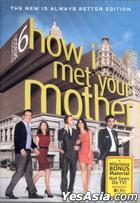 How I Met Your Mother (2010) (DVD) (The Complete Season 6) (US Version)