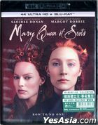 Mary Queen of Scots (2018) (4K Ultra HD + Blu-ray) (Hong Kong Version)