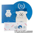 2014 SMTOWN Live World Tour IV in Seoul Goods - Button Notebook Mouse Pad Set (Super Junior)