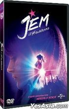 Jem and the Holograms (2015) (DVD) (Hong Kong Version)