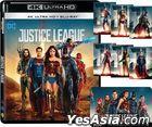 Justice League (2017) (4K Ultra HD + Blu-ray) (Hong Kong Version)