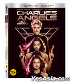 Charlie's Angels (2019) (4K Ultra HD + Blu-ray) (First Press Limited Edition) (Korea Version)