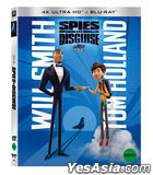 Spies in Disguise (4K Ultra HD + 2D Blu-ray) (Slip Case Limited Edition) (Korea Version)