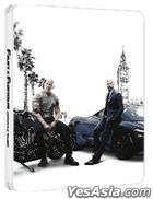 Fast & Furious: Hobbs & Shaw (2019) (4K Ultra HD + Blu-ray) (Steelbook) (Hong Kong Version)