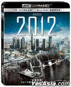 2012 (2009) (4K Ultra HD + Blu-ray) (Taiwan Version)