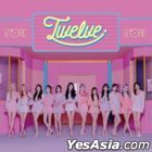Twelve [TYPE A] (ALBUM + DVD) (Normal Edition) (Taiwan Version)