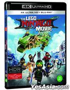 The LEGO Ninjago Movie (4K Ultra HD + Blu-ray) (2-Disc) (Limited Edition) (Korea Version)