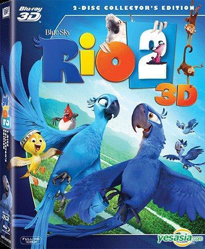 Yesasia Rio 2 2014 Blu Ray 2 Disc Collector S Edition 3d Hong Kong Version Blu Ray Carlos Saldanha 20th Century Fox Western World Movies Videos Free Shipping