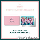 Gugudan Offcial Goods Act. 2 Narcissus Ver - Lenticular Card Mirror Set
