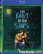 The Fault in Our Stars (2014) (Blu-ray) (Extended Version) (Hong Kong Version)