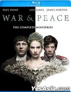 War & Peace (2016) (Blu-ray) (Ep. 1-6) (The Complete Miniseries) (US Version)