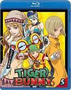 Tiger & Bunny (Blu-ray) (Vol.5) (Normal Edition) (English Subtitled) (Japan Version)