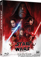 Star Wars: The Last Jedi (Blu-ray) (2-Disc) (2D + 3D Combo Collection Limited Edition) (Korea Version)