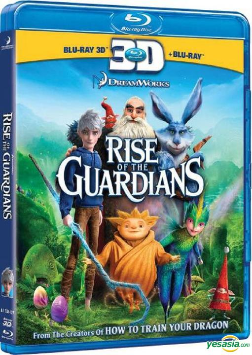 Yesasia Rise Of The Guardians 2012 Blu Ray 2d 3d Hong Kong Version Blu Ray Alec Baldwin Hugh Jackman Intercontinental Video Hk Western World Movies Videos Free Shipping