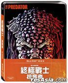 The Predator (2018) (Blu-ray) (Steelbook) (Taiwan Version)