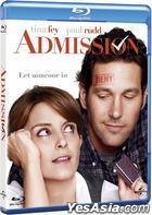 Admission (2013) (Blu-ray) (Hong Kong Version)