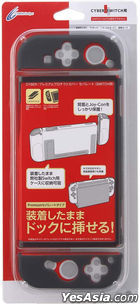 Nintendo Switch Premium Protect Cover Separate (Clear Grey) (Japan Version)