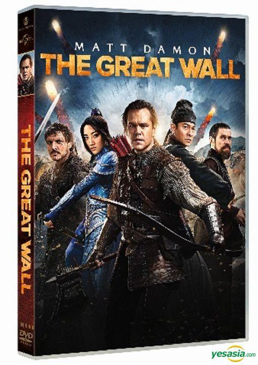 Yesasia The Great Wall 2016 Dvd Hong Kong Version Dvd Matt Damon Zhang Yimou Intercontinental Video Hk Hong Kong Movies Videos Free Shipping