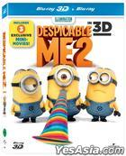 Despicable Me 2 (Blu-ray) (2-Disc) (3D + 2D) (Lenticular Outcase) (First Press Limited Edition) (Korea Version)