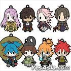 D4 Touken Ranbu -ONLINE- : Rubber Strap Collection Vol.5