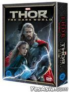Thor : The Dark World (2013) + Thor (2011) (DVD) (2-Disc) (Korea Version)