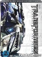 Transformers: Revenge of the Fallen (DVD) (2-Disc Steelbook) (First Press Limited Edition) (Korea Version)