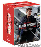 Mission: Impossible 6-Movie Collection (4K Ultra HD + Blu-ray) (12-Disc) (Outbox Edition) (Korea Version)