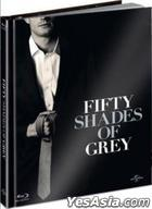 Fifty Shades of Grey (2015) (Blu-ray + DVD) (2-Disc Limited Edition) (Taiwan Version)