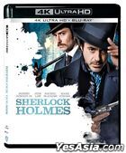 Sherlock Holmes (2009) (4K Ultra HD + Blu-ray) (Hong Kong Version)
