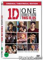One Direction: This is Us (2013) (DVD) (Korea Version)