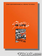 Stray Kids Vol. 1 Repackage - IN LIFE (Standard Edition) (A Version) + First Press Random Mini Photobook + Random Poster in Tube