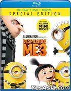Despicable Me 3 (2017) (Blu-ray + DVD + Digital) (US Version)
