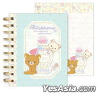 San-X Rilakkuma Note Book S (Light Blue)