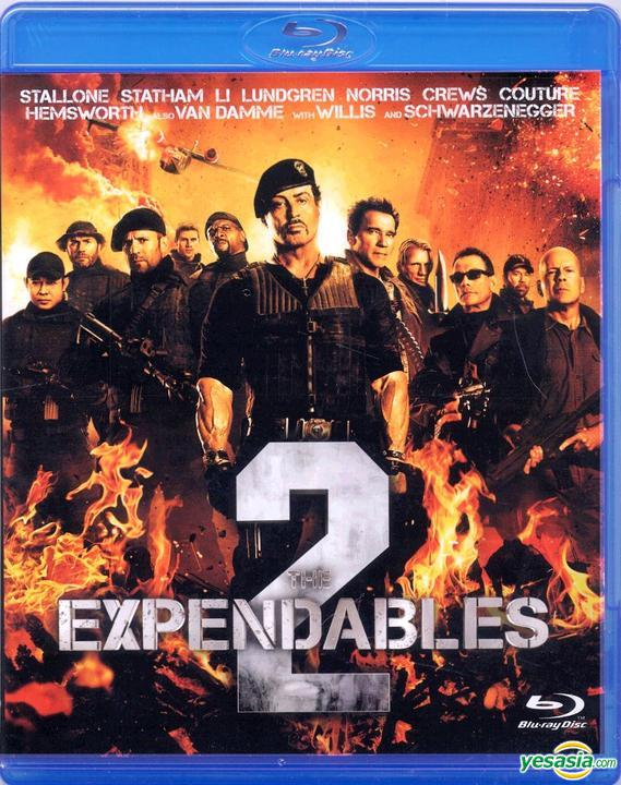 Yesasia The Expendables 2 2012 Blu Ray Hong Kong Version Blu Ray Jean Claude Van Damme Couture Randy Intercontinental Video Hk Western World Movies Videos Free Shipping