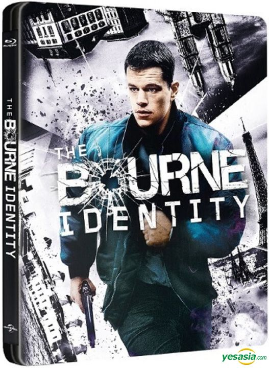 Yesasia The Bourne Identity 2002 Blu Ray Steelbook Hong Kong Version Blu Ray Matt Damon Franka Potente Intercontinental Video Hk Western World Movies Videos Free Shipping North America Site