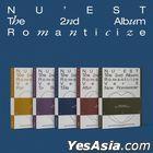 NU'EST Vol. 2 - Romanticize (Random Version) + Random Poster in Tube