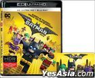 The LEGO Batman Movie (2017) (4K Ultra HD + Blu-ray) (Hong Kong  Version)
